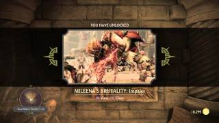 Krypt Location Mileena