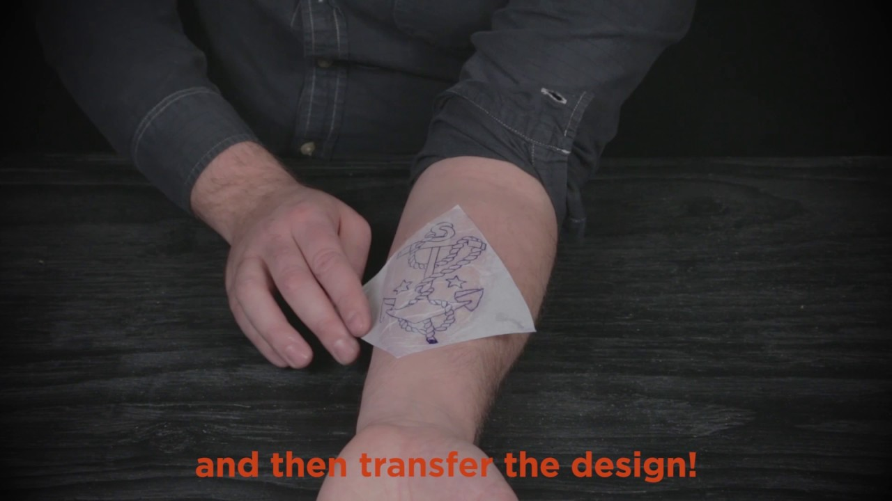 Jagua Transfer Paper Tutorial Youtube