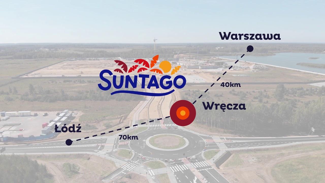 Lokalizacja inwestycji Park of Poland & Suntago Wodny Świat wrzesień 2018