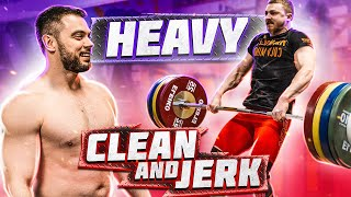 Heavy C&J with Anton Pliesnoi // Learn CLEAN TECHNIQUE from European & World championships medalists