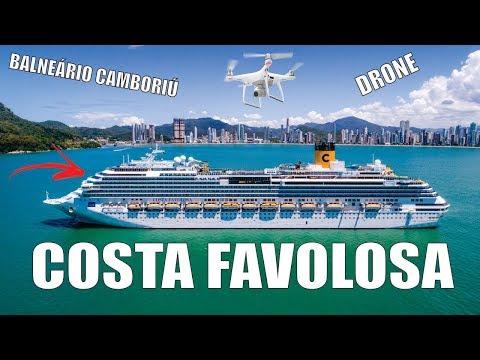 COSTA FAVOLOSA em Balneário Camboriú – JC Drones em 4K