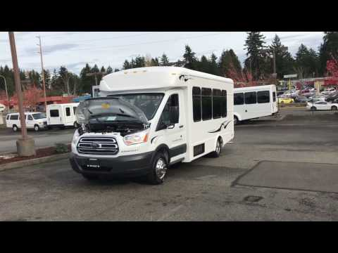 2017 Ford Starlite Transit Style Shuttle Bus - S26151