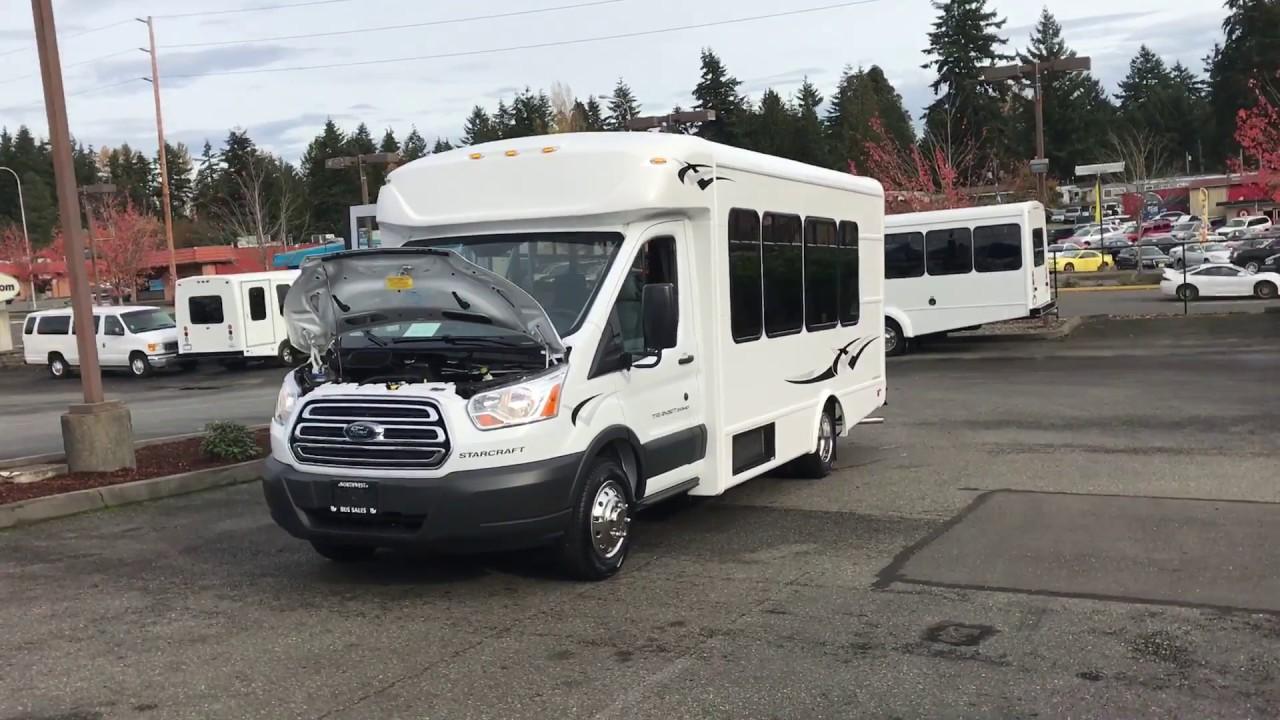 5052f7cf05 2017 Ford Starlite Transit Style Shuttle Bus - S26151. Northwest Bus Sales