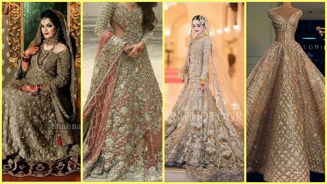 7db3bb675c Bridal Walima Dresses 2018 In Pakistan Latest - YouTube
