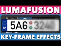 Advanced LumaFusion Tutorial How To Keyframe Effects License Plate Blur mp3