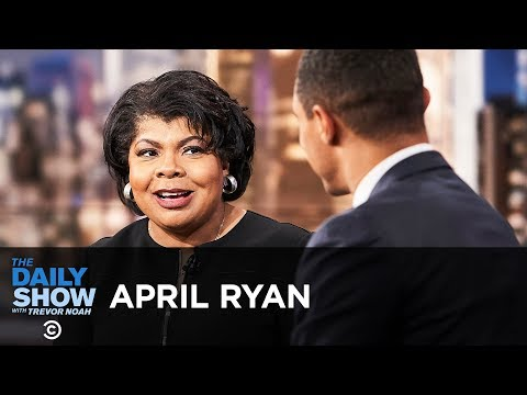 April Ryan - The Daily Show Appearance 09/08/2018