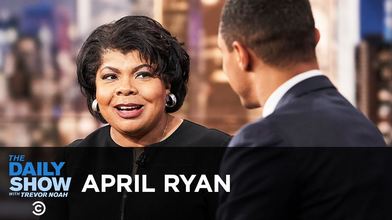 "April Ryan - ""Under Fire"" and Demanding the Truth from the Trump White House 