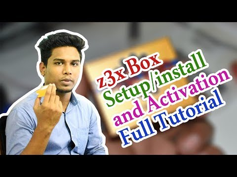 How To Usage z3x Box Samsung Tools ! z3x Box Setup/install and Activation Full Tutorial