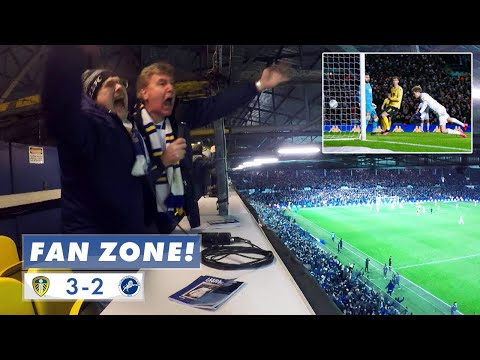 """You wonderful man!!!"" Fan Zone commentary: Leeds United 3-2 Millwall"