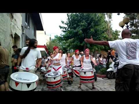 Batala Atenas Φεστιβάλ Χρωμάτων Μεταξουργείου - Κεραμεικού