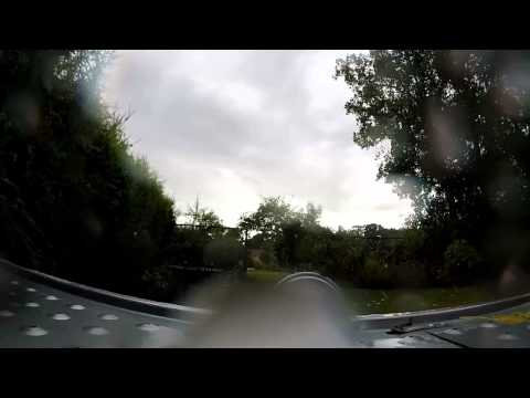 Heavy Rain UK 10/8/14 Timelapse Hurricane Bertha