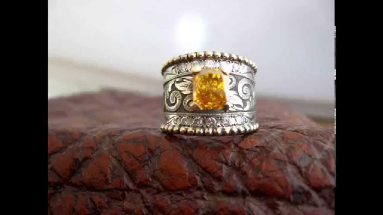 Western Wedding Rings YouTube