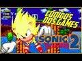 Códigos dos Games - Super Sonic e final secreto no Sonic 2 do Mega Drive