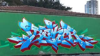 Loop Colors Graffiti - Bakeroner   / Adana 2017