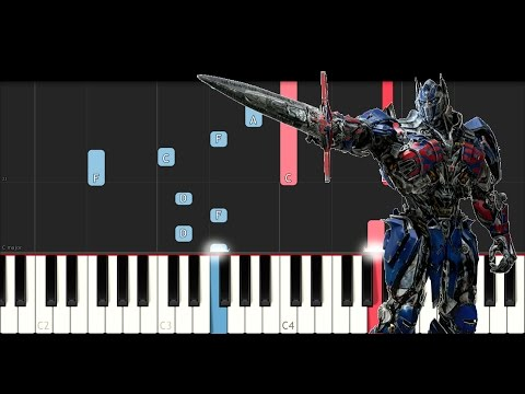 Transformers 5: The Last Knight - Official Trailer #3 (Piano Tutorial)