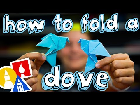 How To Fold An Origami Dove ?