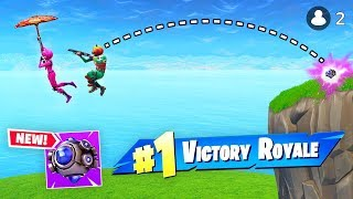 *WORLD'S FIRST* Shockwave VS Glider VICTORY! (Fortnite FAILS & WINS #20)