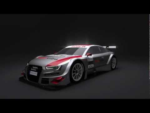 Audi A5 DTM 2012 Concept 3D Model Blender Cycles