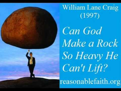 Can God Make A Stone So Heavy He Can T Lift It William