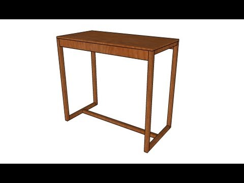 How To Build A Bar Table
