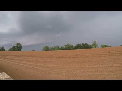 East Alabama Weather 7 21 2018 ~ MESOCYCLONE near miss ???