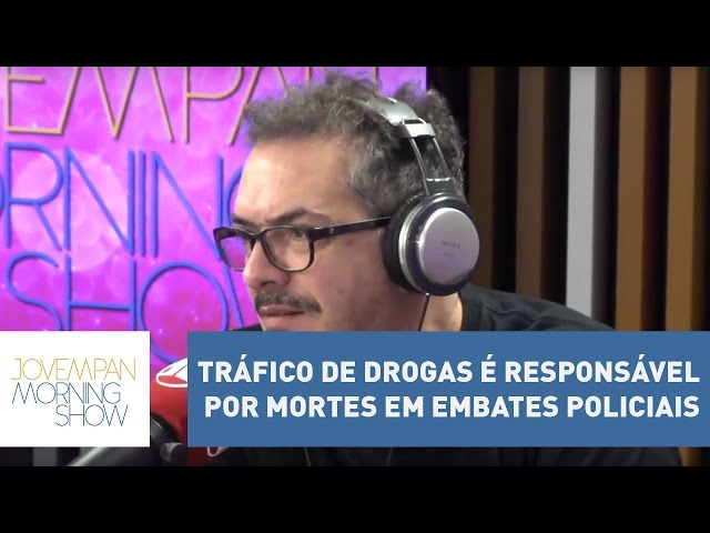 """Tognolli: """"tráfico de drogas é responsável por mortes em embates policiais"""" l Morning Show"""