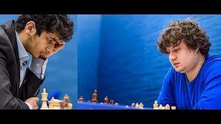 Amazing Chess Game: Vidit vs Korobov