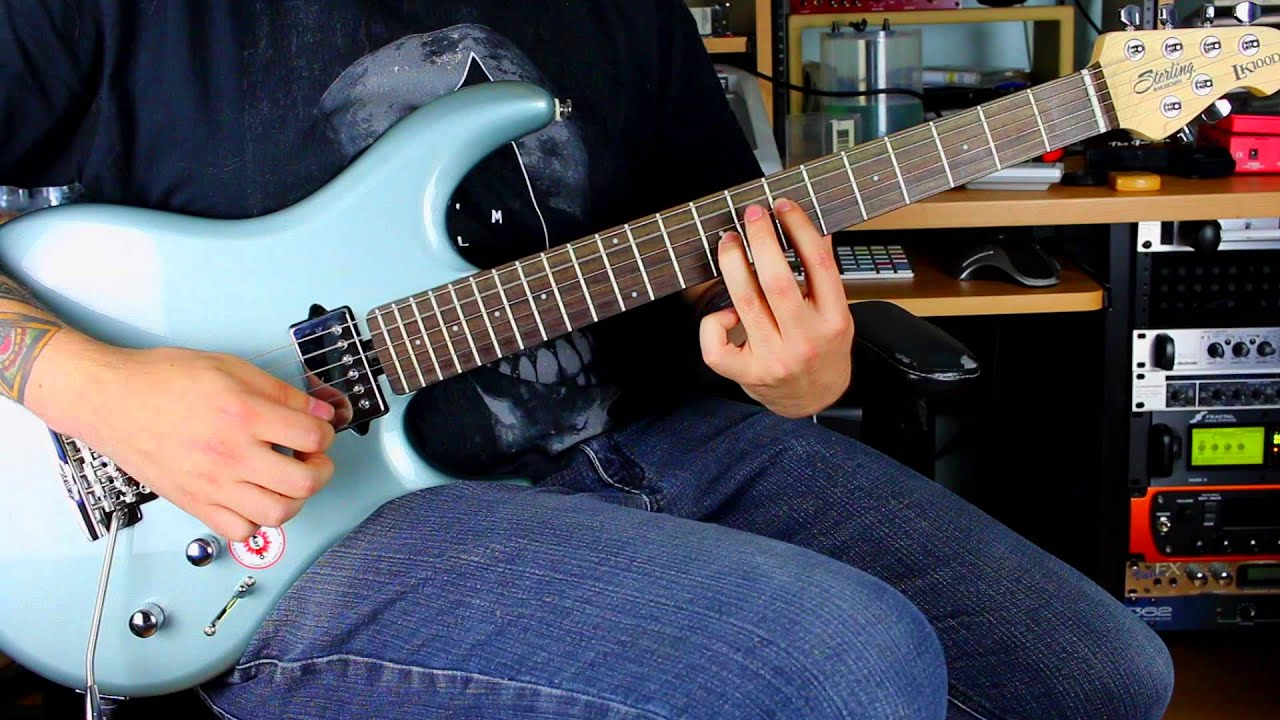 Sterling By Musicman LK100D Demo - YouTube
