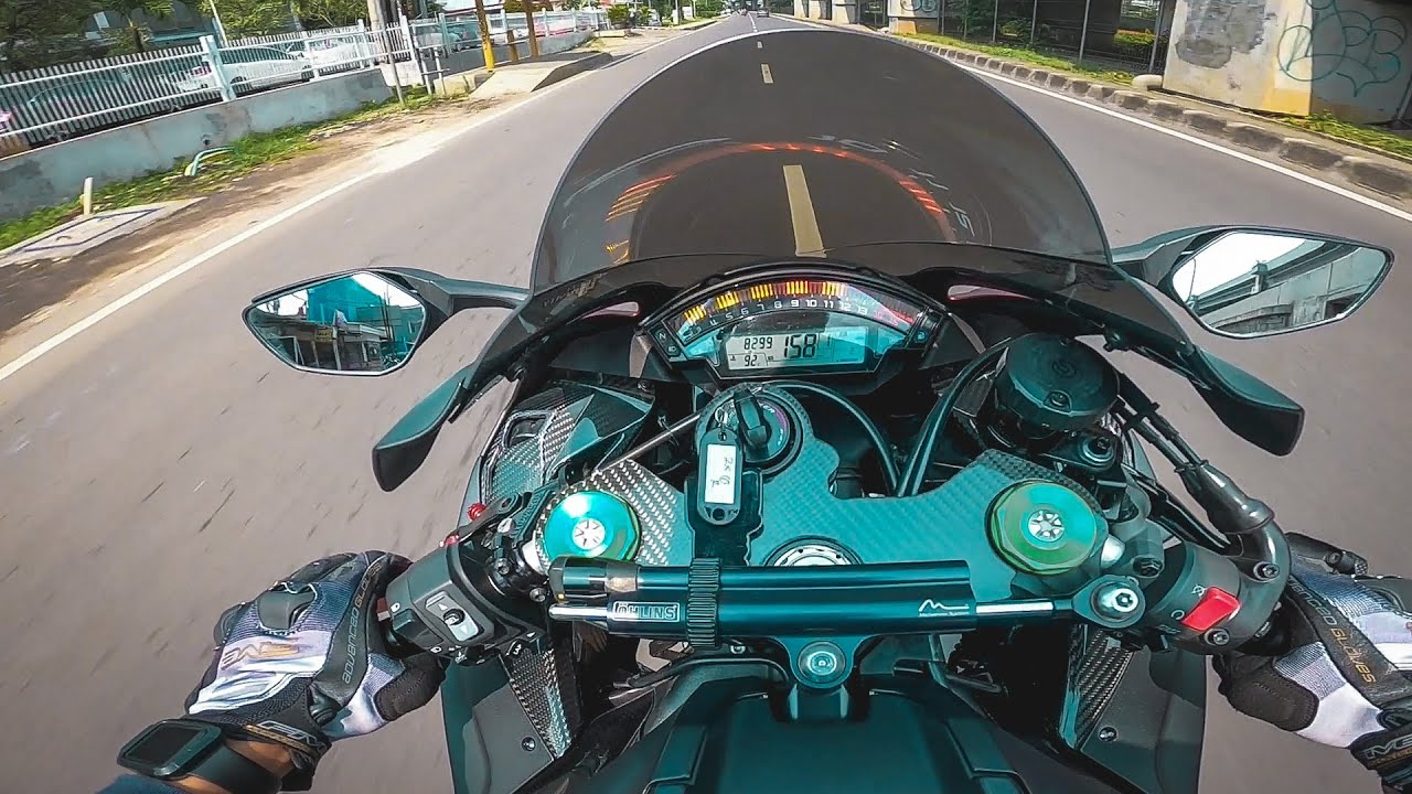 PURESOUND ZX10R DUO RIDE ft. MV AGUSTA DRAGSTER 800 RC!