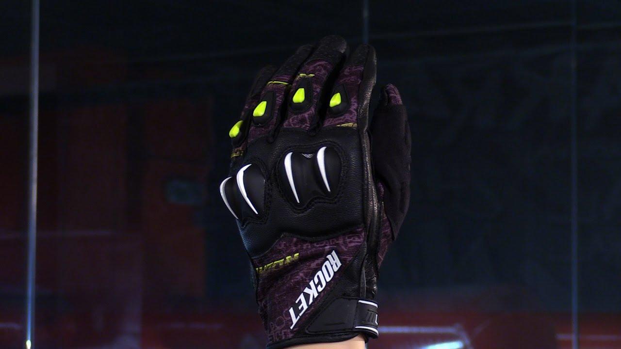 Joe rocket leather motorcycle gloves - Joe Rocket Cyntek Leather Textile Motorcycle Gloves Review