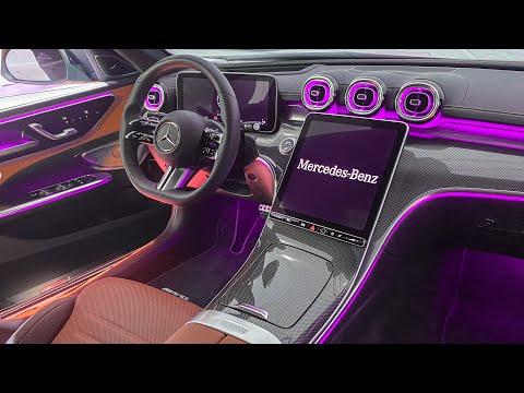 ALL NEW 2022 Mercedes Benz C-Class INTERIOR! First Full Interior View W206 C-Class