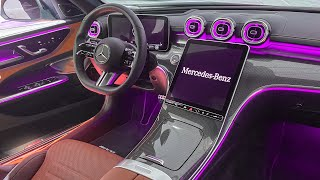 ALL NEW 2022 Mercedes Benz C-Class INTERIOR! First Full Interior View W206 C-Class