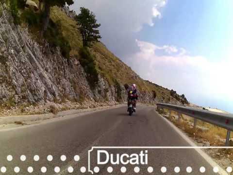 llogara pass by bicycle