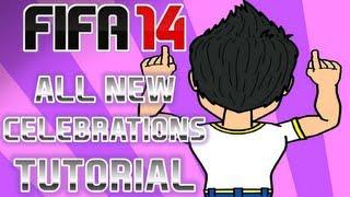 FIFA 14 | NUEVAS CELEBRACIONES | TUTORIAL HD