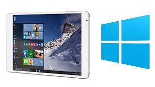 Teclast X98 Pro Dual OS Windows 10 & Android 5.1 RAM 4GB - Windows 10 Test