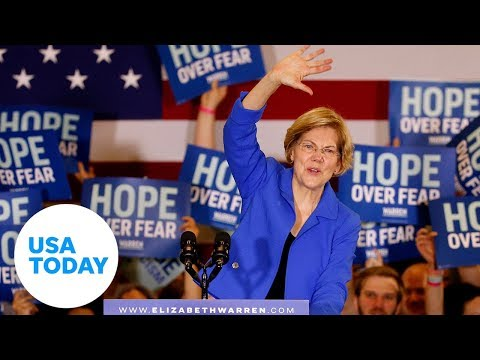 Elizabeth Warren: 'if people not money come first, this campaign is for you.' | USA TODAY