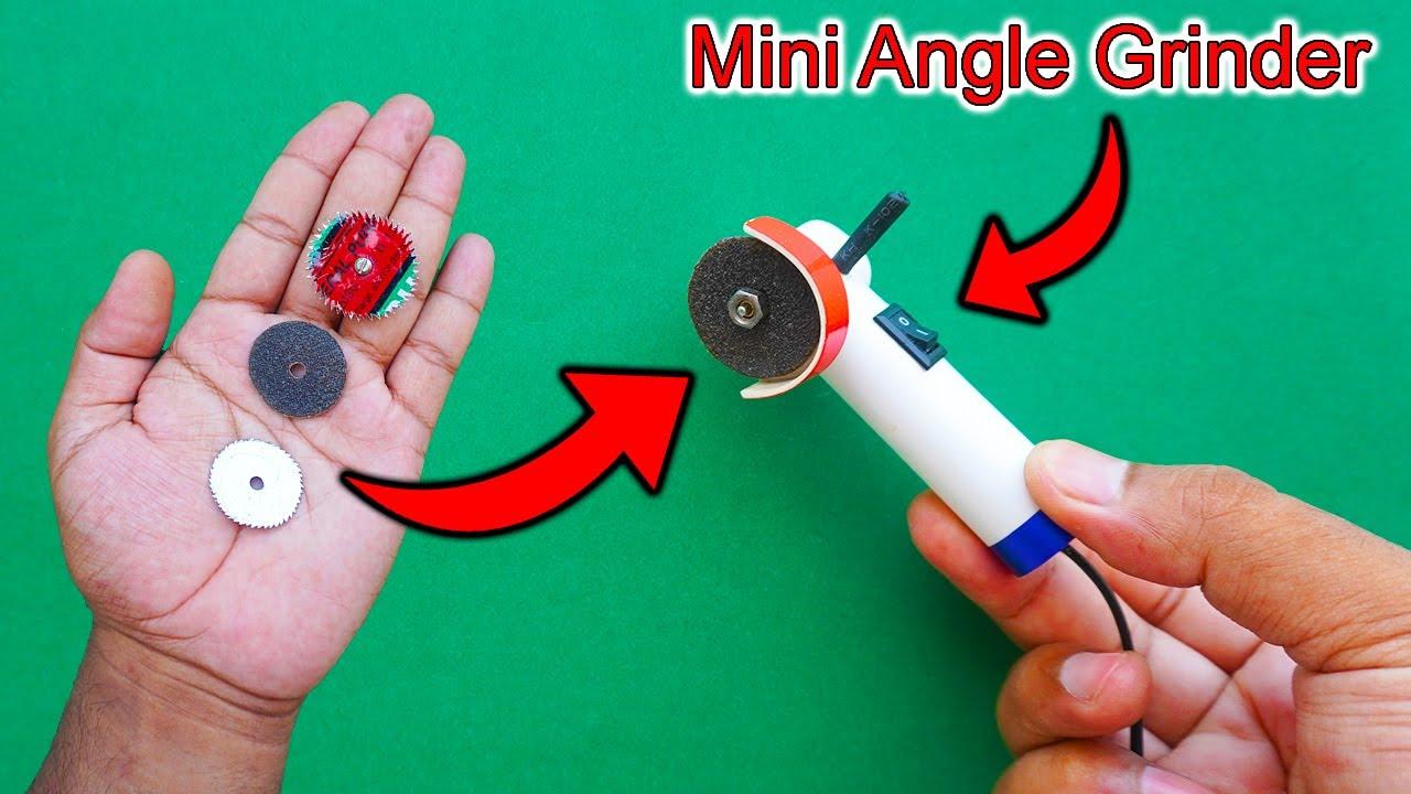 Download How To Make A Mini Angle Grinder | How To Make A Mini Dremel Tool | Cordless Angle Grinder | Grinder