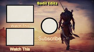 New Outro Template Free To Download | 2021 | Gaming Outro | Badil Editz