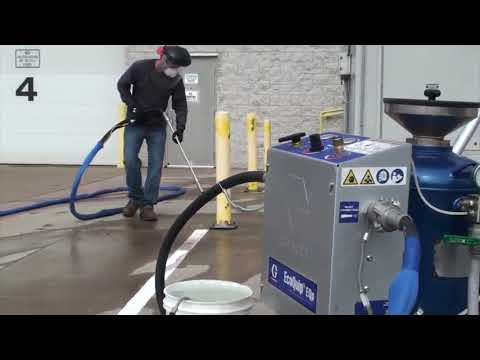 Rust and paint removal with EcoQuip 2 EQp - YouTube