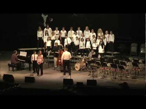 All Saints Catholic School performing Accentuate The Positive