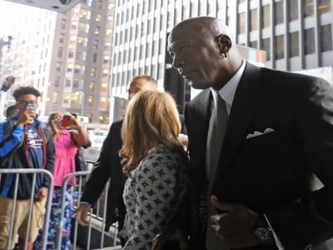 Raw: Michael Jordan Appears In Chicago Court