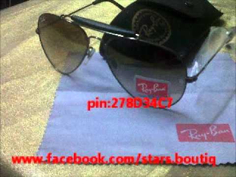 56c258961 نظارات ريبان rayban sunglass - YouTube