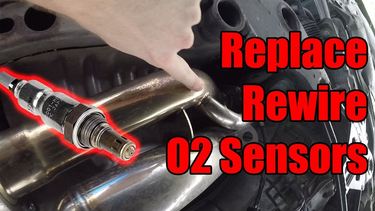 How to fix P0138 and P0158 Replace/Rewire Downstream O2 sensors G35/350Z