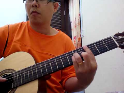 Roman picisan on classical guitar.