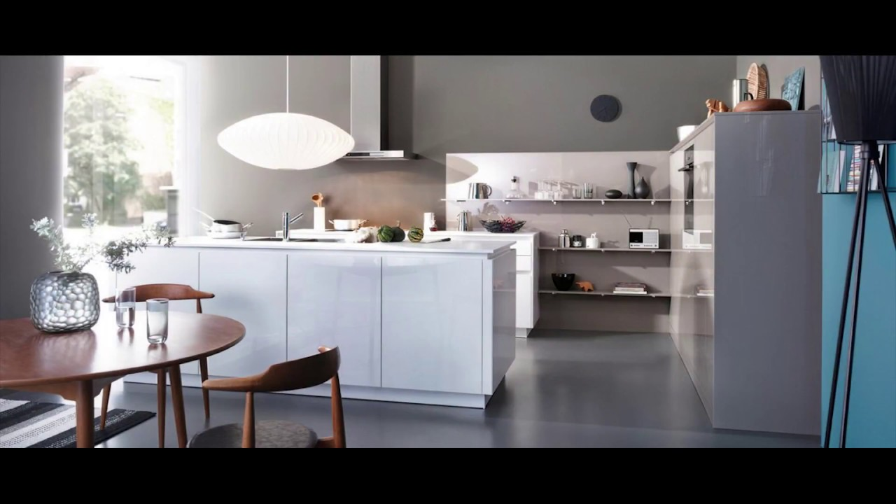 Best Of White Kitchen Cabinets Without Handles Youtube