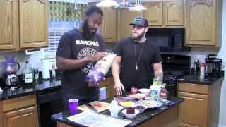 Drunk Kitchen: Thanksgiving [part 1: Nachos] - #betv