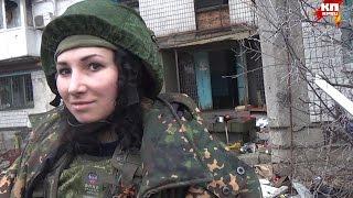 Донецк. Ополченец Лия(, 2014-12-16T18:34:35.000Z)