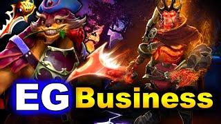 EG vs Business A - NA Super Game - ESL One Birmingham 2020 DOTA 2