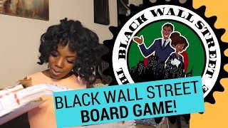 Black Wall Street Board Game Unboxing