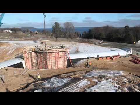 Time-lapse Wine Cave Construction for Mari Vineyards
